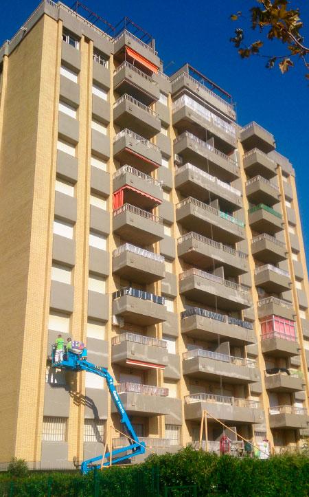 Rehabilitación integral de edificios. Trabajos de calidad garantizada.